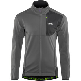 GORE WEAR C5 Windstopper Jacket Men grey/black